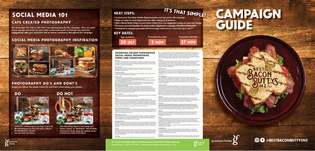 Campaign guide for café customers  café businesses